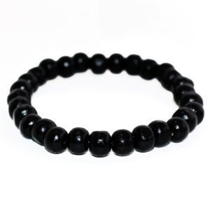 THE BLACK WOODEN BRACELET