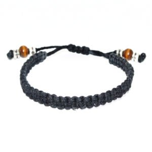 THE MACRAME BRACELET – BLACK