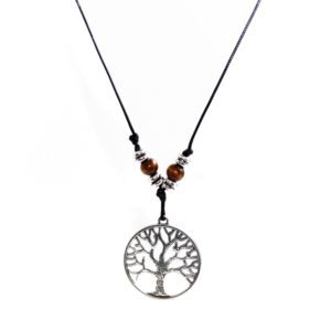 THE ROUNDED TREE CORD NECKLACE