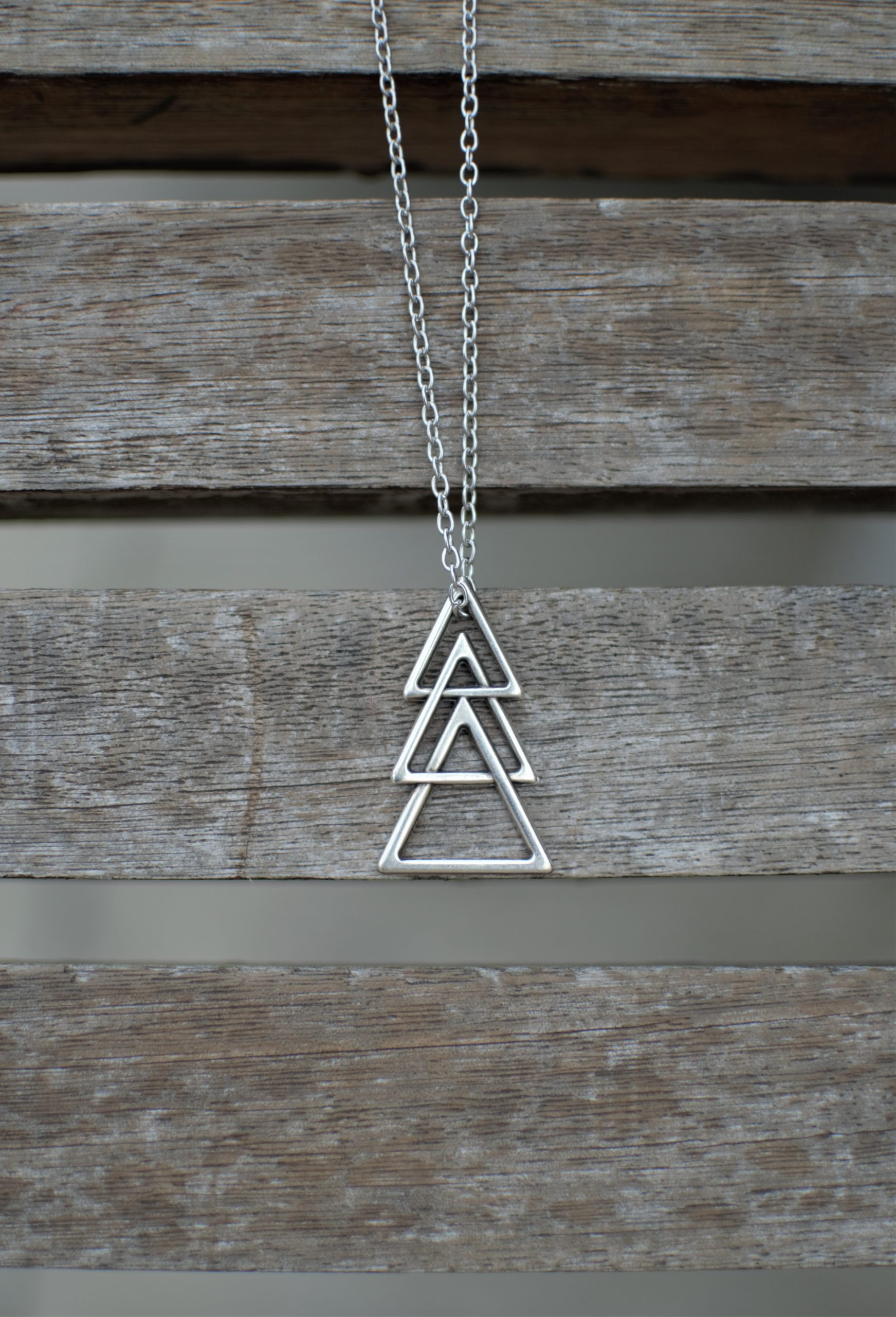 The Chain Triangles Men's Necklace