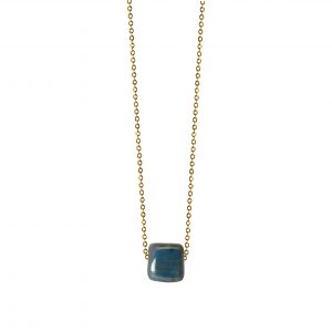 BLUE MINIMAL NECKLACE