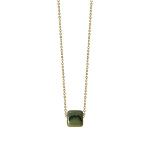 GREEN MAXIMAL NECKLACE