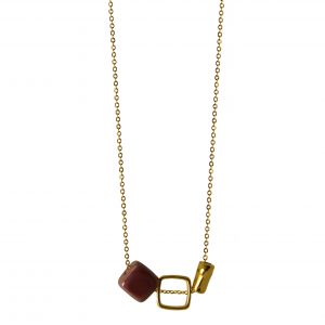 FUCSHIA PREMIUM NECKLACE