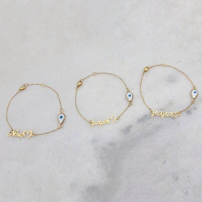 Mama giagia nona bracelets