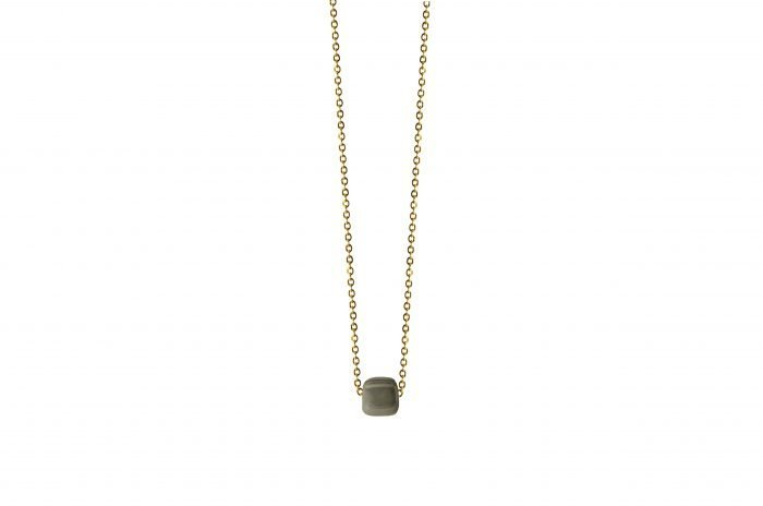 GREY MINIMAL NECKLACE