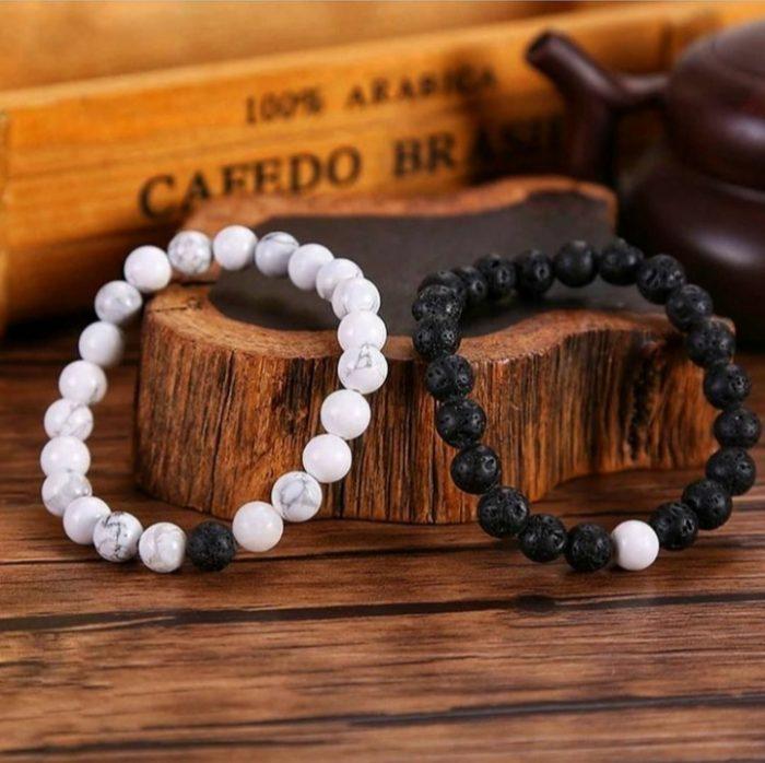 couple bracelets lava
