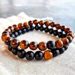 COUPLE BRACELETS – TIGER EYE