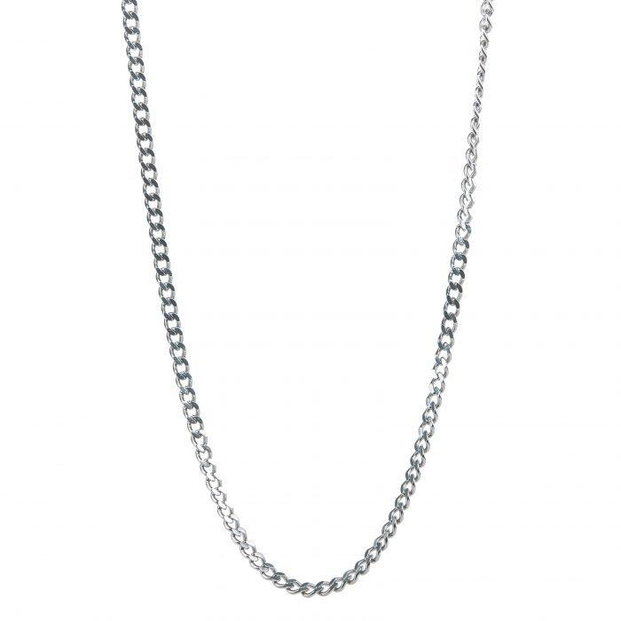 Cuban Necklace Silver