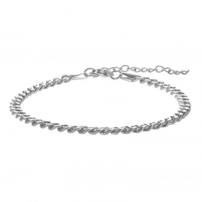 Cuban Silver Bracelet