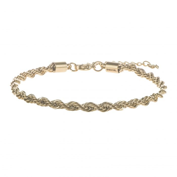 Rope Gold Bracelet