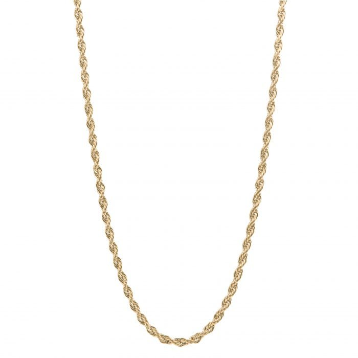 Rope Gold Necklace