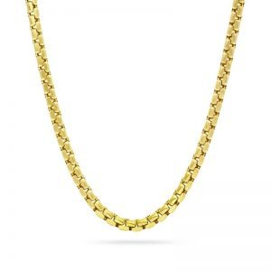 ROUND BOX CHAIN GOLD
