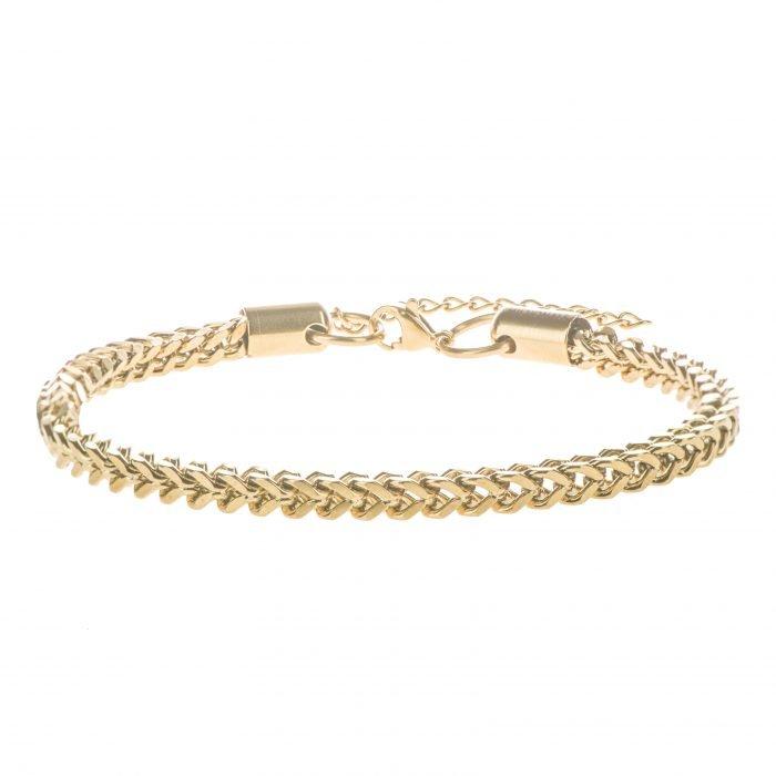 Square Gold Bracelet
