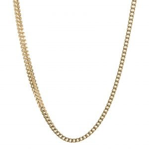 SQUARE CHAIN GOLD