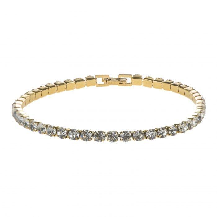 Tennis Gold bracelet