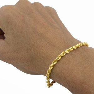 ROPE BRACELET GOLD
