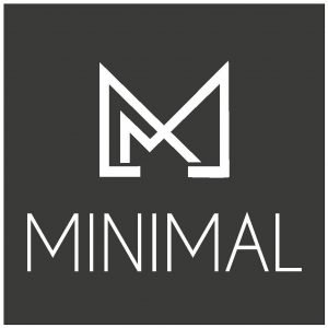 minimal men's fashion logo