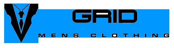 grid mens clothing logo