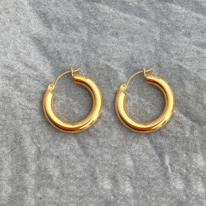 AURORA EARRINGS GOLD